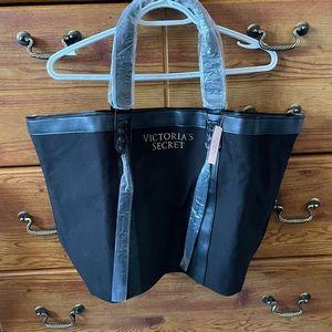 NWT - Victoria's Secret Black Tote Bag